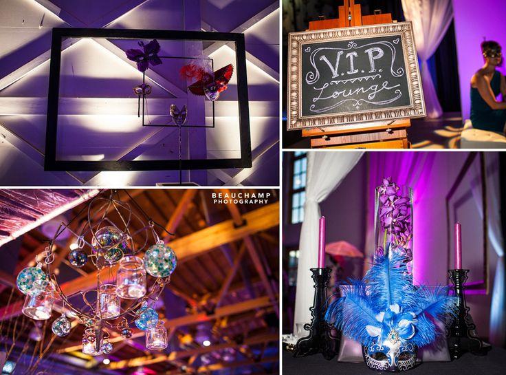 Urban Masquerade - Design by Site 6 Events  www.site6events.com