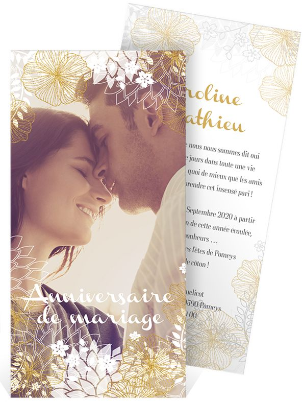 46 best invitation anniversaire de mariage images on pinterest