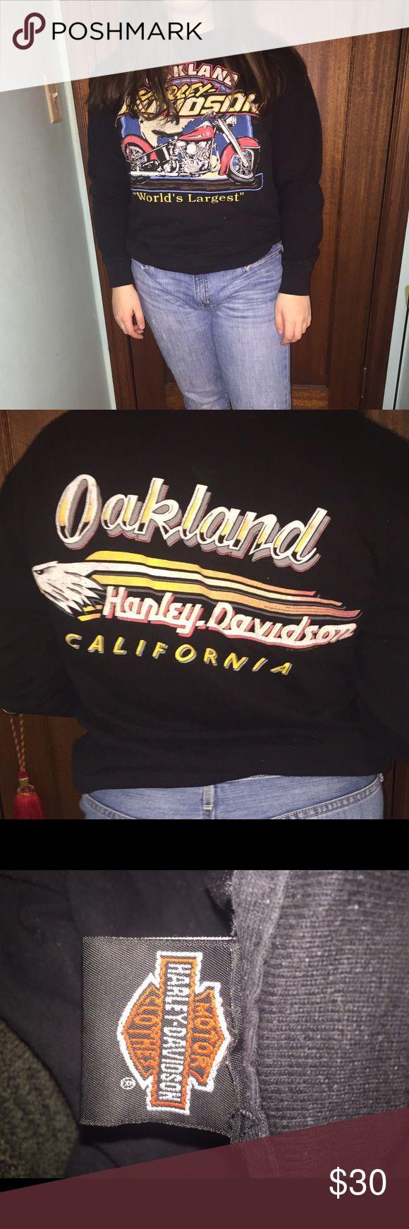 Vintage Harley Davidson Long Sleeve Vintage Harley Davidson long sleeve. Very cute and comfortable Harley-Davidson Tops Tees - Long Sleeve