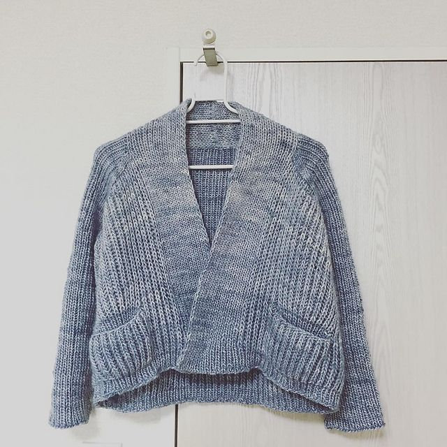 Flaum by Justyna Lorkowska, knitted by megumicat | malabrigo Worsted in Polar Morn