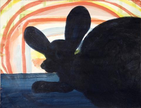 Tanja Smit untitled, 2009 (wallabi) egg tempera on paper 25 x 33 cm