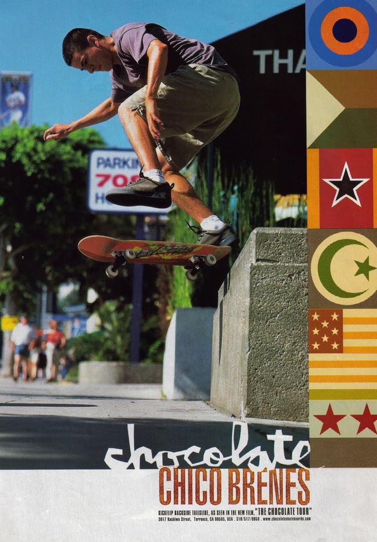 Chico Brenes, Chocolate ad, 1999(?)