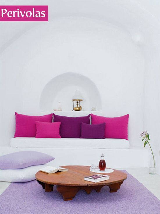 perivolas hotel in santorini greece - Violet Hotel Decor