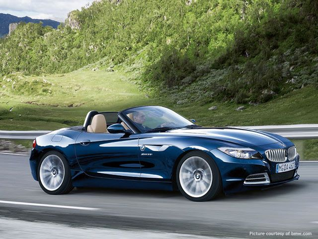 The Bmw Z4 Roadster Is A Two Door Two Seated Sportscar