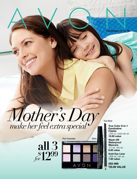 Mother's Day Flyer Avon Campaign 9 2016 - Style With Taren