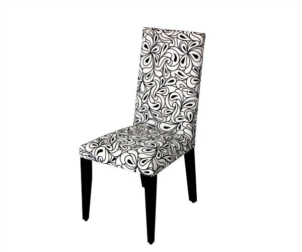 Silla comedor, fabricada en madera perillo, liviana por su alto porcentaje de tapizado que la convierte en una elegante silla. Disponible en diferente opciones de tela y cuero.