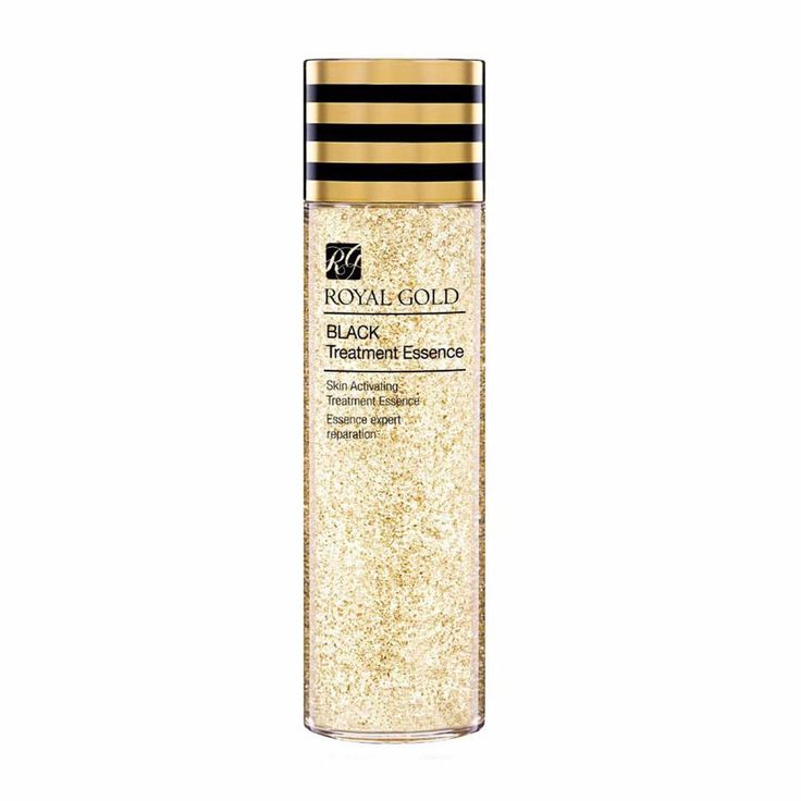Royal Gold Black Treatment Essence for Whitening & Wrinkle Care 150ml #ROYALGOLD
