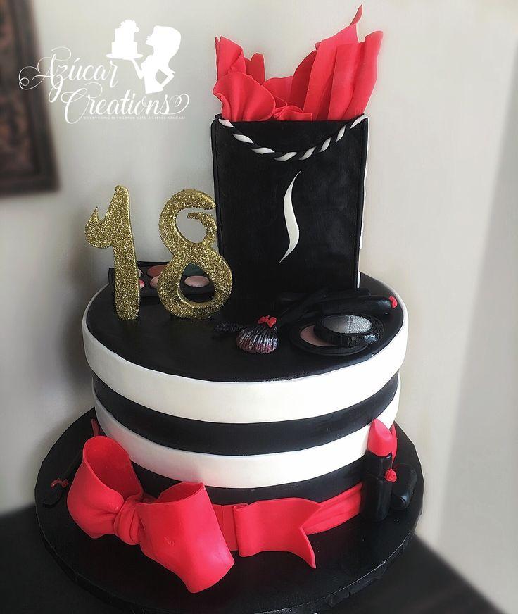 Makeup Birthday Cake Ideas : Best 25+ Makeup cakes ideas on Pinterest
