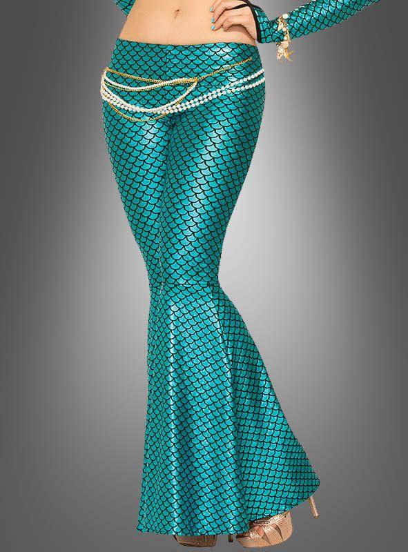 Meerjungfrau Flosse Leggings ♥ bei Kostümpalast