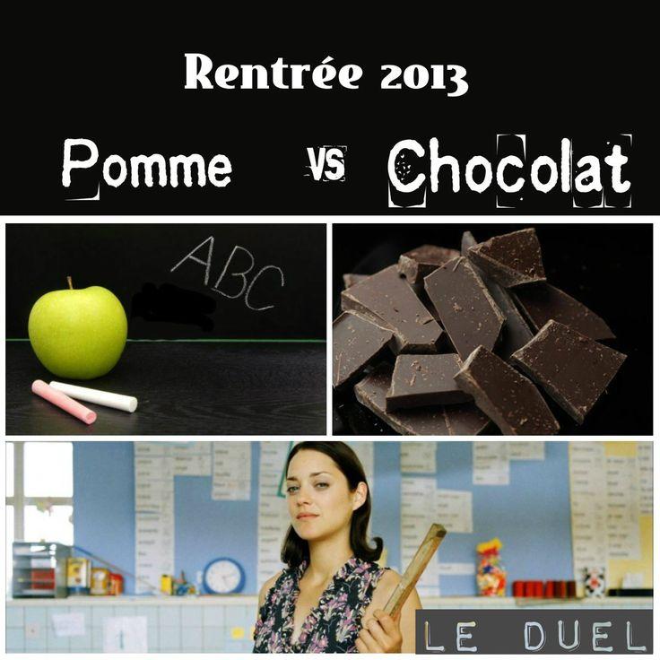 Pomme vs Chocolat on http://www.roselisabeth.com/#!BLOG/cbf8/pomme-vs-chocolat