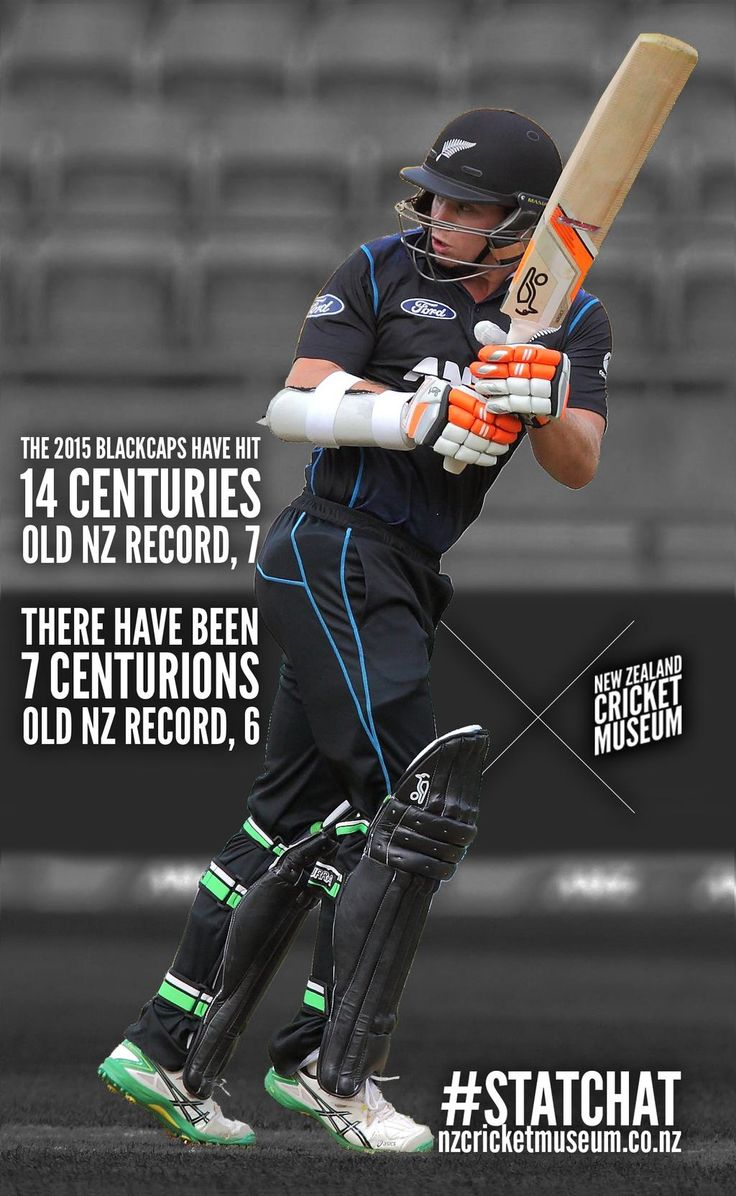 With his century in #ZIMVNZ, @Tomlatham2 added to an incredible year of centuries for @BLACKCAPS' batsmen. #statchat