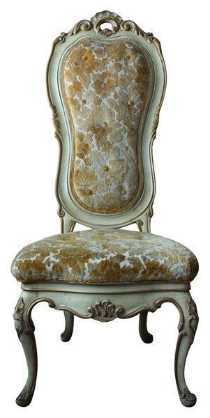 Carved Queen Anne Style Chair