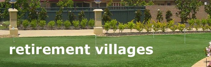Artificial grass that looks and feels like lush is becoming a popular choice for retirement villages #enduroturf