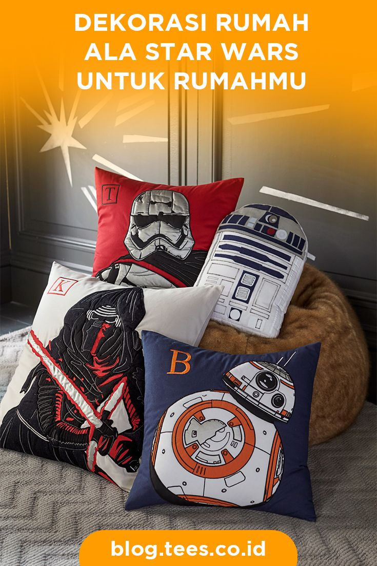 Star Wars Home Decor Theme   Click http://blog.tees.co.id/dekorasi-rumah-ala-star-wars?utm_source=pinterest-social&utm_medium=post&utm_campaign=artikel #teesblog #starwars