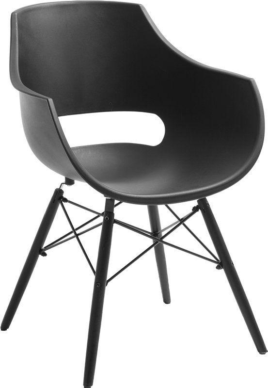 Spisestoler har både praktisk og visuell betydning for hvordan spisestuen og kjøkkenet ditt ser ut. Her finner du mer enn 50 forskjellige stoler, og noe for enhver smak, enten du trenger klassiske hvite kjøkkenstoler, eller om du trenger spisestuestoler med elegant design. Velg mellom flere farger og varianter av skinn, stoff, velour m.fl.Jazzstolsort hardplast skall sortlakkerte treben