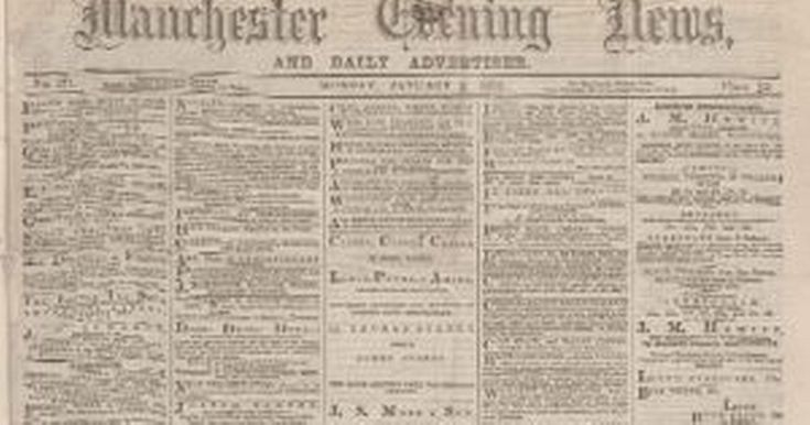 The British Newspaper Archive website, launched today, will allow readers to journey back to the Victorian Age. Experts have spent more than a year scanning four million pages from 200 different titles, including our sister papers the Rochdale Observer and Salford Advertiser.