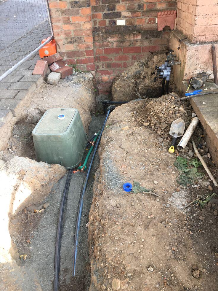 New water meter box