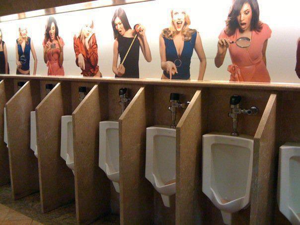 Funny Toilet Poster HA HA HA