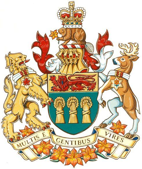 Coat of Arms of #Saskatchewan | #heraldry