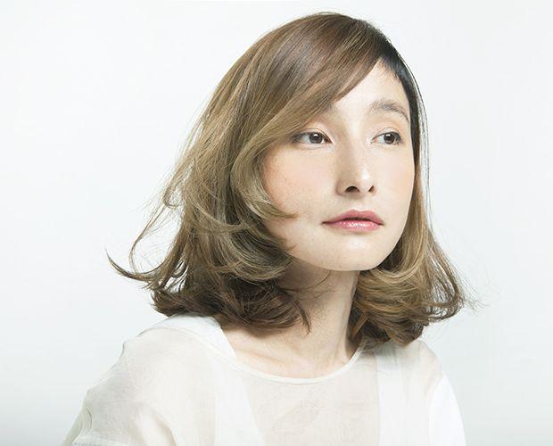 Double/ 柏 佳代子 髪型 ヘアスタイル hair ミディアム