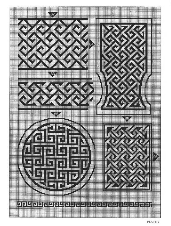 Celtic Knot Knitting Chart : Best images about monocolor on pinterest embroidery