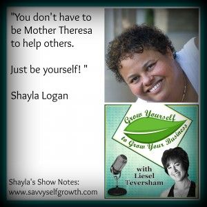 Podcast: Shayla Logan shares the best policy for a great business: Being Yourself!