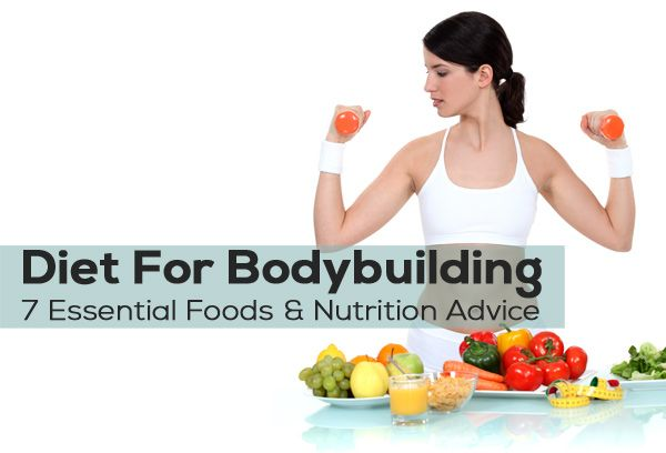 Diet For Bodybuilding – 7 Essential Foods & Nutrition Advice