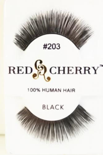 Black Thick N Full Long Human Hair False Eyelash