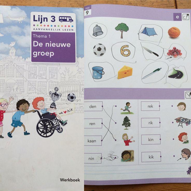 Max, 1e klas. Thema 1 werkboek van lijn 3