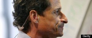 Anthony Weiner - Flips the Bird. Ends his Mayoral Campaign!