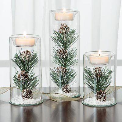 Winter Tealights – wedding ideas