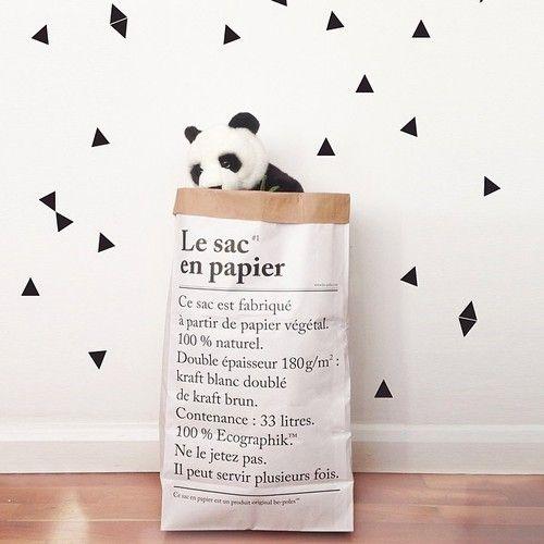 Le sac en papier - papirposen som kan brukes til alt. Se www.multitrend.no - gratis frakt