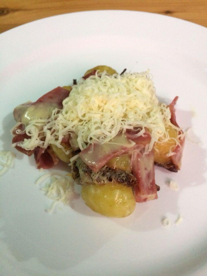 Potato Bacon Cheese