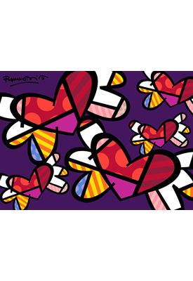 LOVE IS IN THE AIR TOO - Romero Britto