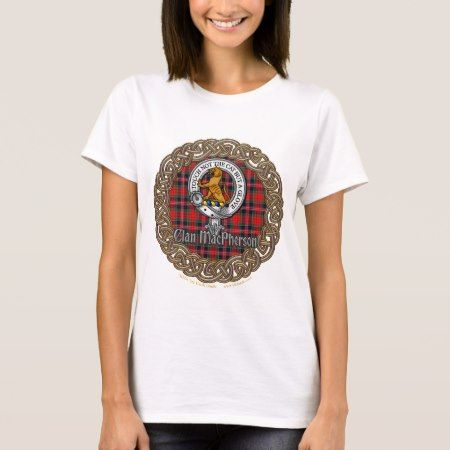 MacPherson Celtic Circle T-Shirt - click to get yours right now!