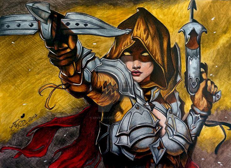 Demon Hunter - Diablo3 by Krystal89IT.deviantart.com on @DeviantArt