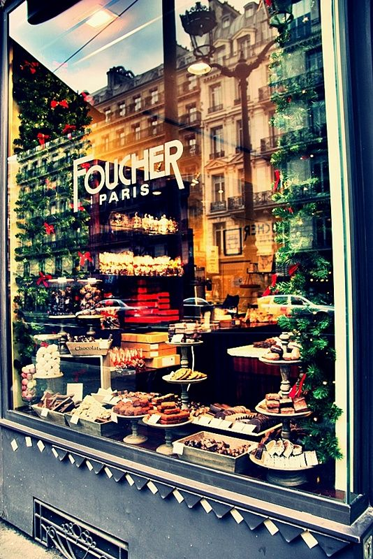 chocolate ... in Paris.