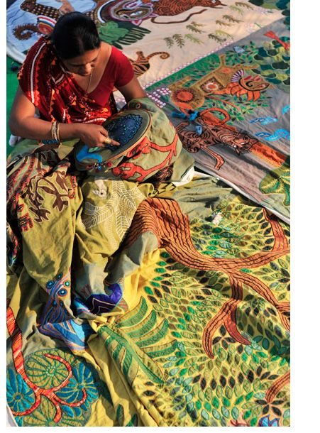 West Bengal India Embroidery