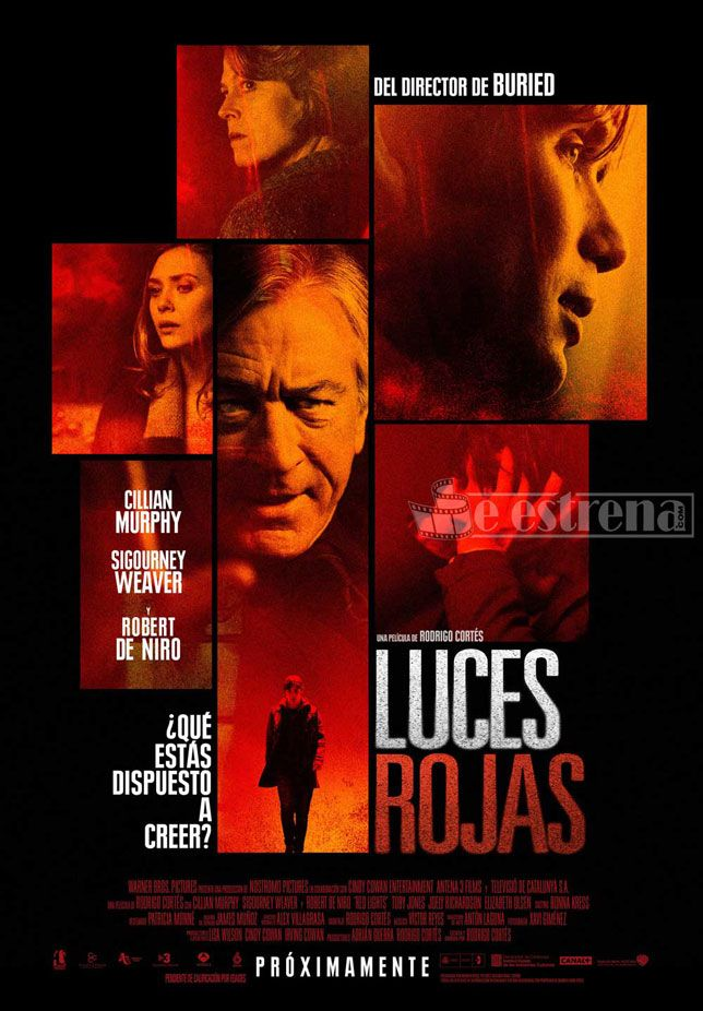 2012: Luces Rojas - Del director Rodrigo Cortes. La primera no me atrevi a verla
