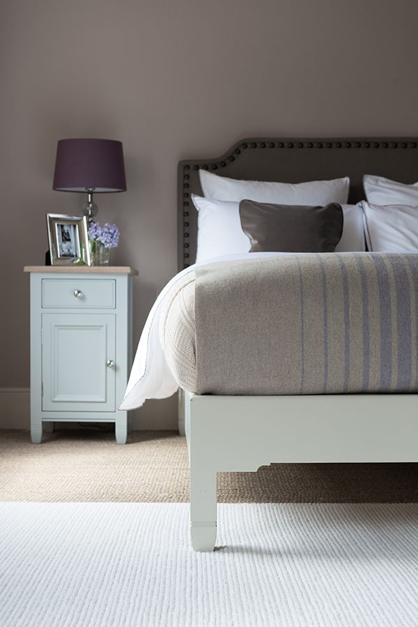Chichester bed frame with Charles headboard Neptune
