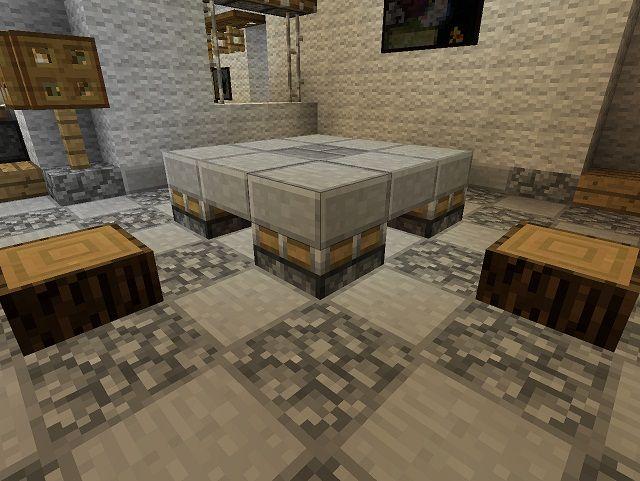 17 best images about amazing minecraft builds on pinterest for Minecraft coffee table