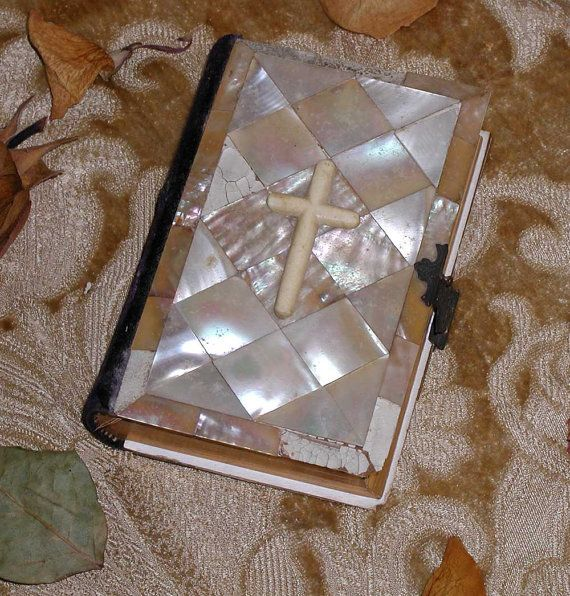 19th Century Catholic  Missal Manual of Piety With by PaxDei, $85.00