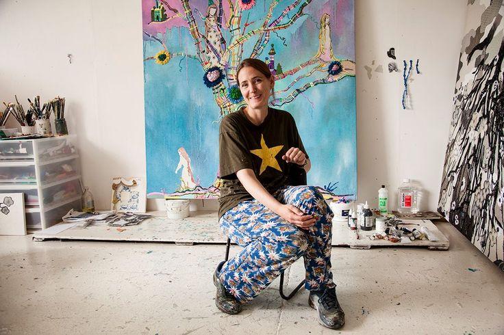 Alicia Paz Artista di origini messicane che si è trasferita al…