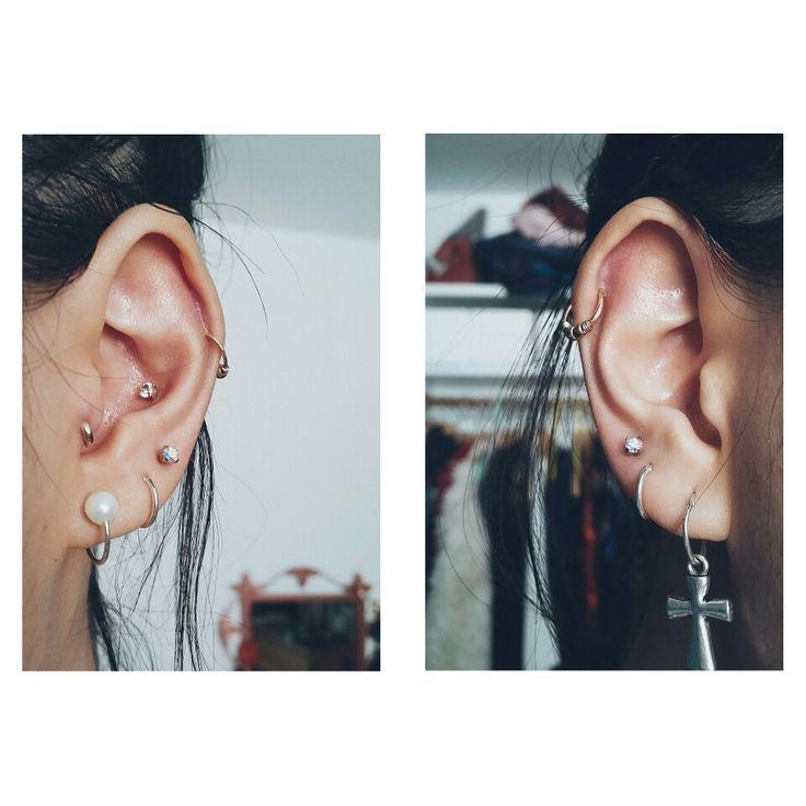 Ear Piercings Conch, Tragus, Lobe, Upper Lobe, Helix, Cartilage