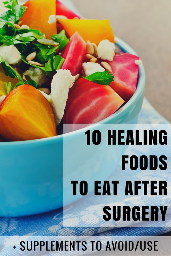 Good Foods To Eat After Knee Surgery