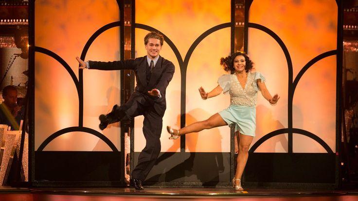 Claudia Fragapane & AJ Pritchard Charleston to 'You Give a Little Love' ...
