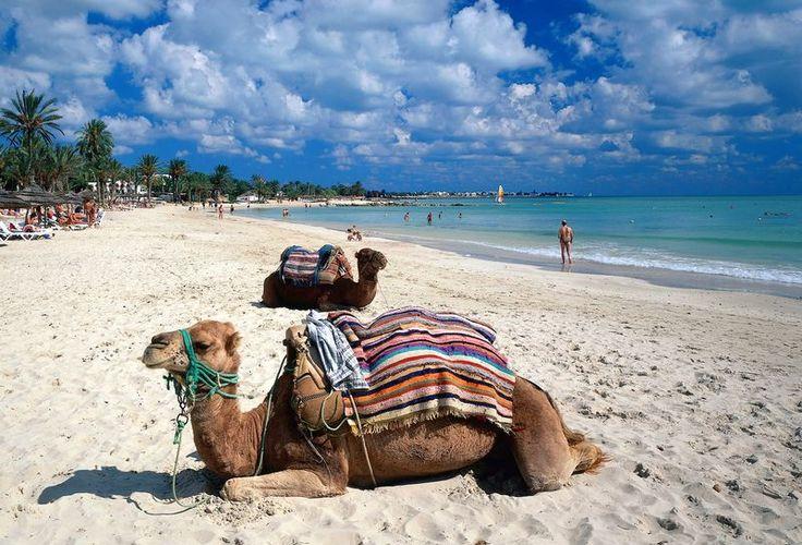 Djerba, Tunesien vor ca. 34 Jahren