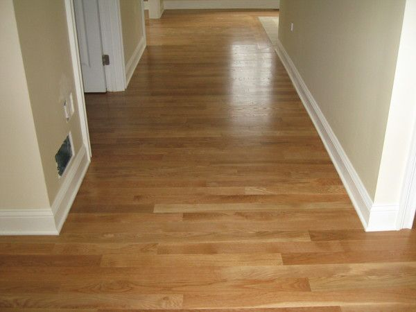 Wood floors white trim like the shade not too light or for Hardwood floors with white trim