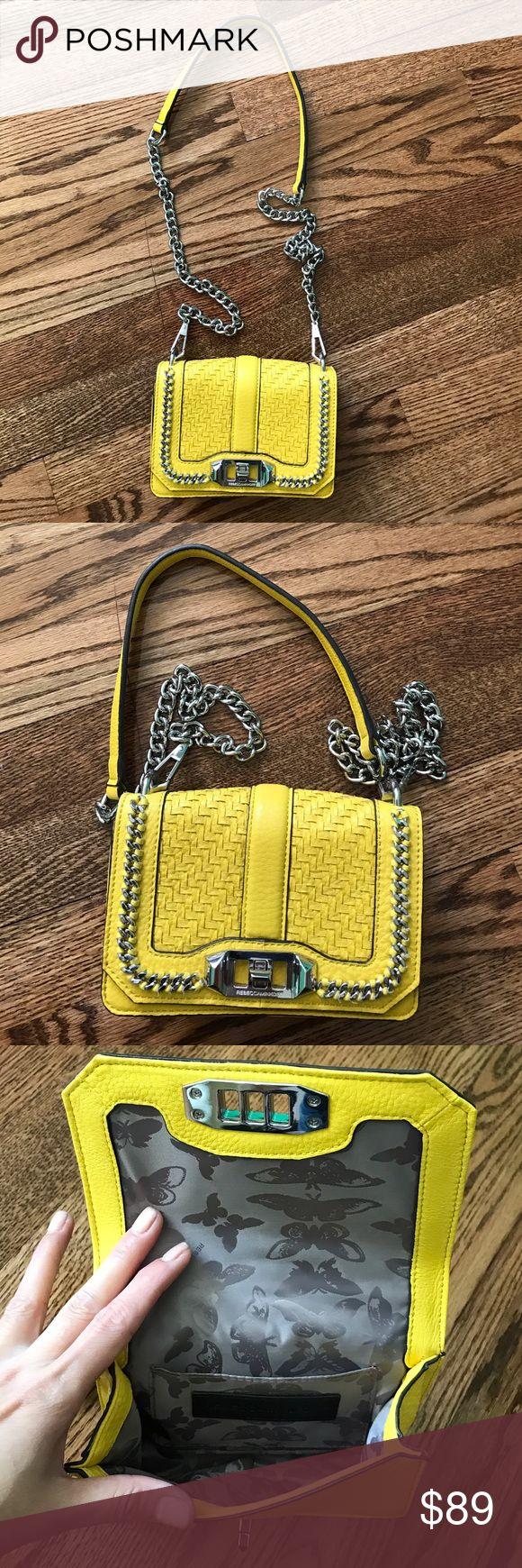 💕 Super cute crossbody bag Used couple times. Still new and pretty. No trade Rebecca Minkoff Bags Mini Bags
