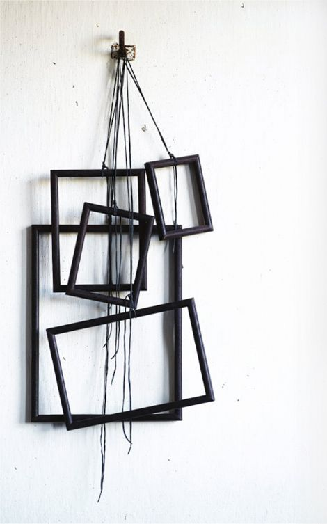 :: WALLS :: adore, getting creative with objects and hanging frames as a focal point